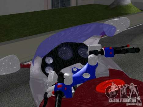 Honda CBR1100XX para GTA San Andreas vista direita