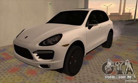 Porsche Cayenne Turbo Black Edition para GTA San Andreas
