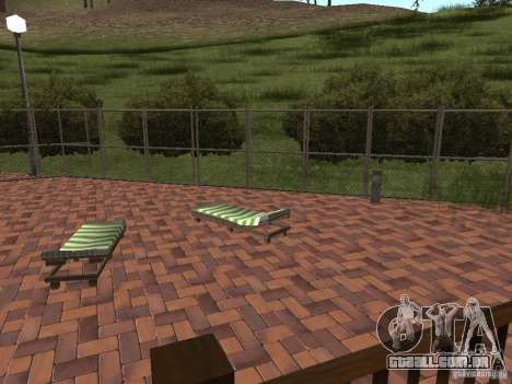 Villa nova para o CJ para GTA San Andreas sexta tela