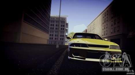 Nissan Skyline GTS R33 para GTA San Andreas esquerda vista