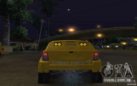 Bowler Nemesis para GTA San Andreas traseira esquerda vista