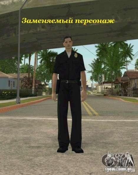 Counter-terrorist para GTA San Andreas por diante tela