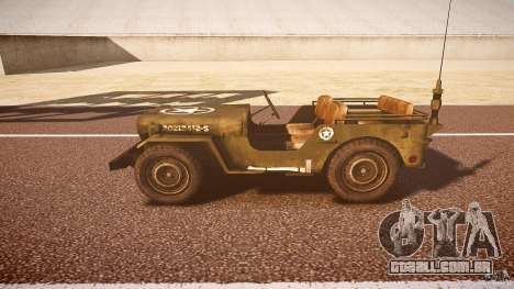 Walter Military (Willys MB 44) v1.0 para GTA 4 esquerda vista