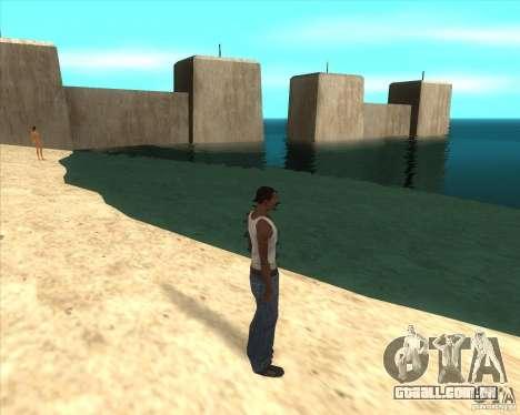 MOD de Jyrki para GTA San Andreas sexta tela
