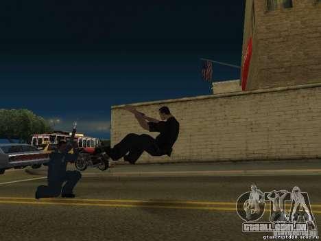 O efeito de tiro perto para GTA San Andreas segunda tela