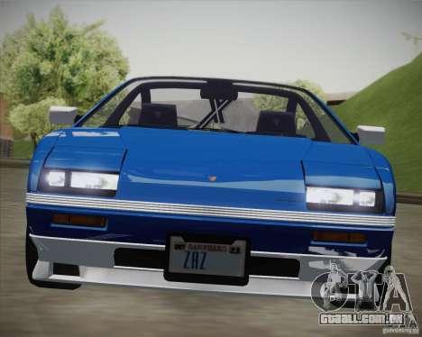 GTA IV Ruiner v2 para GTA San Andreas traseira esquerda vista