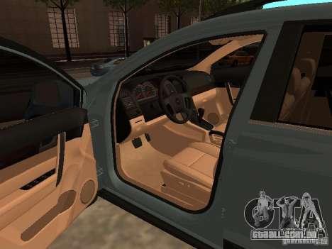 Chevrolet Captiva para GTA San Andreas traseira esquerda vista