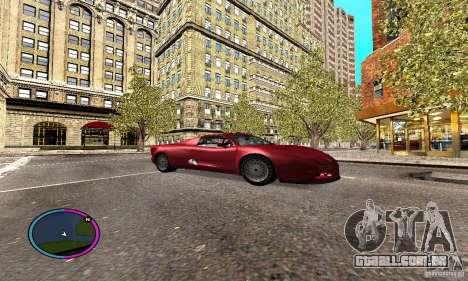 Axis Piranha Version II para GTA San Andreas vista traseira