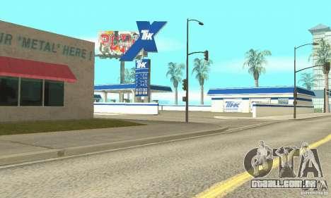Estação de enchimento TNK para GTA San Andreas