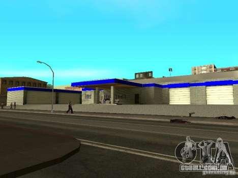 Garagem em San Fierro para GTA San Andreas segunda tela