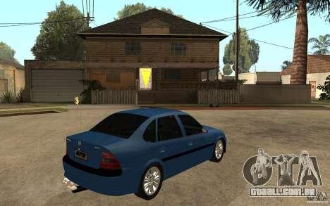 Opel Vectra CD 1997 para GTA San Andreas vista direita