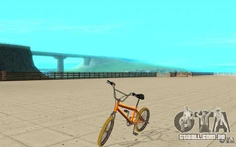 Zeros BMX YELLOW tires para GTA San Andreas