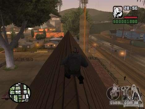 Jason Voorhees para GTA San Andreas quinto tela