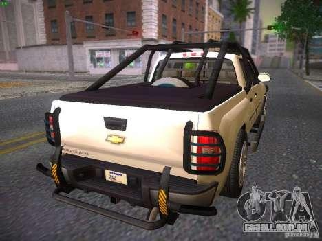 Chevrolet Silverado para GTA San Andreas esquerda vista