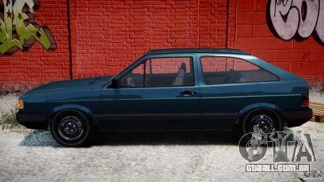 Volkswagen Gol GL para GTA 4 esquerda vista