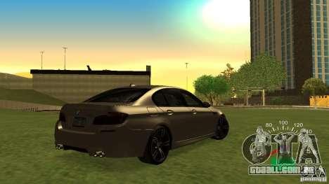 Velocímetro de Lada 2110 para GTA San Andreas terceira tela