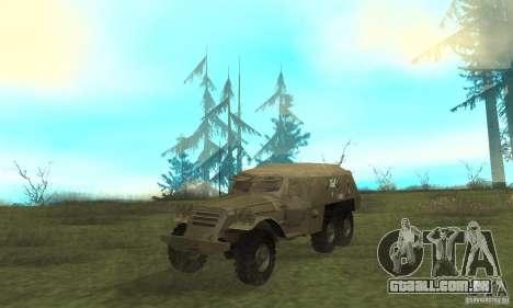 BTR-152 para GTA San Andreas esquerda vista