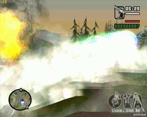 Masterspark para GTA San Andreas terceira tela