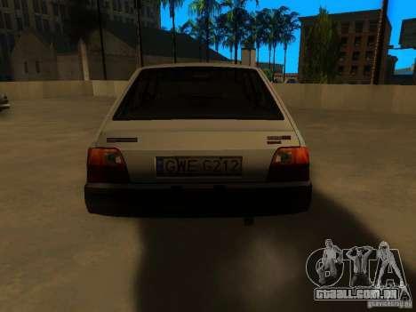FSO Polonez Caro para GTA San Andreas traseira esquerda vista