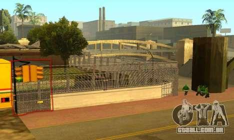 Cerca ao redor do Groove Sreet para GTA San Andreas terceira tela