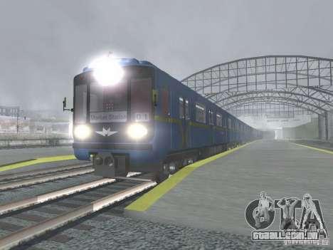 Tubo tipo 81-717 para GTA San Andreas traseira esquerda vista
