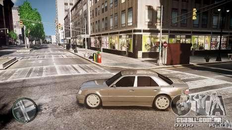 Mercedes Benz W124 E500 para GTA 4 esquerda vista