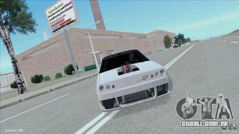 ВАЗ 2108 Sport para GTA San Andreas traseira esquerda vista