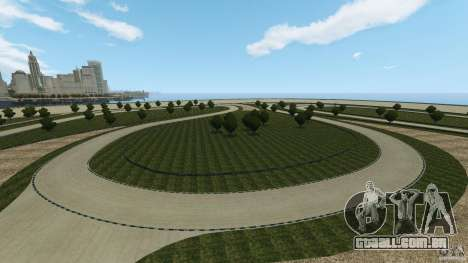 Dakota Raceway [HD] Retexture para GTA 4 décimo tela