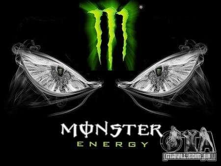 Tela de boot Monster Energy para GTA San Andreas segunda tela