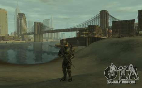 Halo 4 Master Chief para GTA 4 segundo screenshot