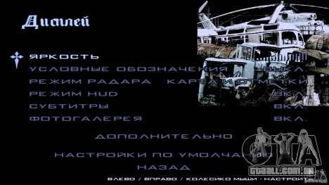 Telas de carregamento Chernobyl para GTA San Andreas sétima tela