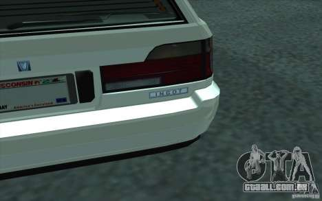 Lingote de GTA 4 para GTA San Andreas vista traseira