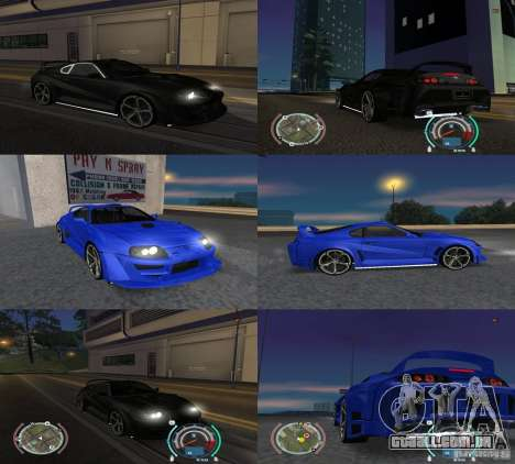 Toyota Supra 2006 Most Wanted para GTA San Andreas