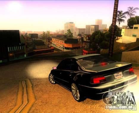 BMW M5 E39 para GTA San Andreas interior