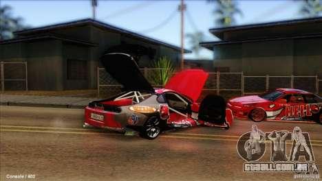 Toyota Supra HELL para GTA San Andreas vista direita