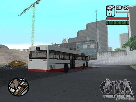 MAN SL 202 para GTA San Andreas traseira esquerda vista