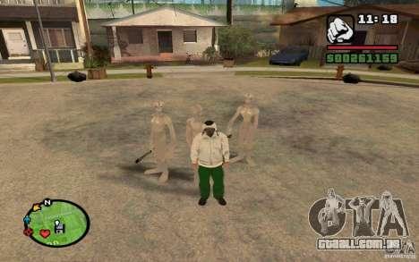 Recém-chegados de GROVE para GTA San Andreas segunda tela