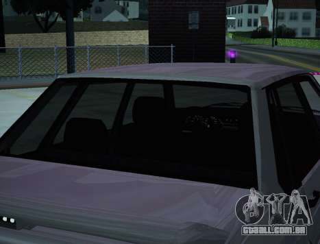 VAZ 2115 para vista lateral GTA San Andreas
