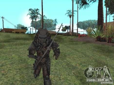 Predador para GTA San Andreas segunda tela