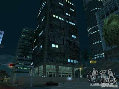 Novas texturas arranha-céus LS para GTA San Andreas décimo tela