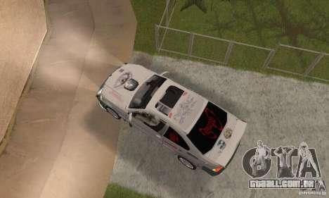 BMW M3 Hamman Street Race para GTA San Andreas vista direita