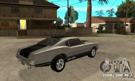 Sabre de GTA 4 para GTA San Andreas vista direita