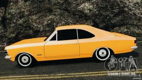 Chevrolet Opala Gran Luxo para GTA 4 esquerda vista