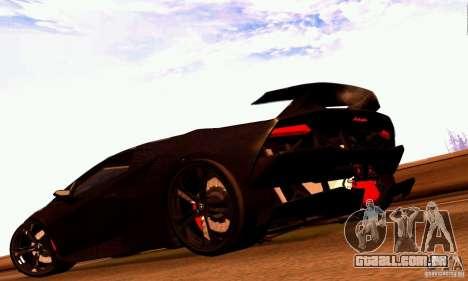 Lamborghini Sesto Elemento para GTA San Andreas esquerda vista