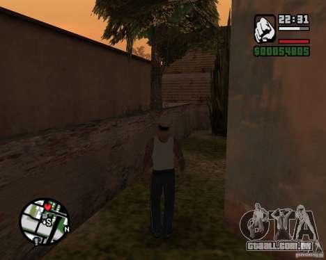 CJ Gopnik para GTA San Andreas terceira tela