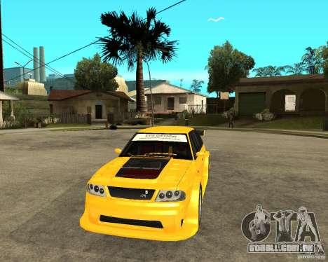 Moskvich 2141 STR (difícil afinação) para GTA San Andreas