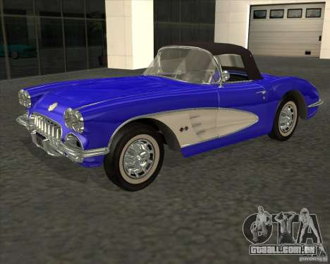 Chevrolet Corvette 1959 para GTA San Andreas
