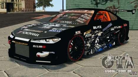Nissan Silvia S15 HKS para GTA 4