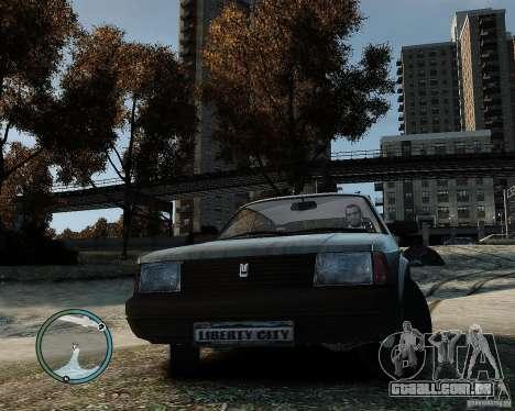 AZLK Moskvich 2141 para GTA 4 traseira esquerda vista