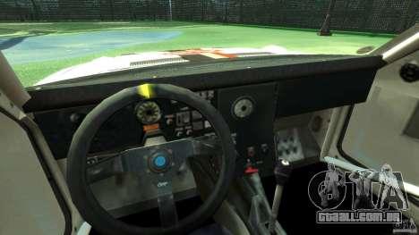 Audi Quattro Group B para GTA 4 vista de volta